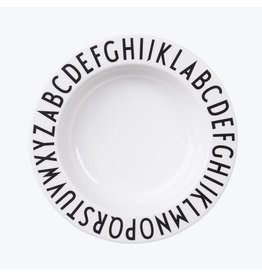 Design Letters Design Letters melamine diep bord
