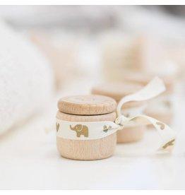 Petit Stellou Petit Stellou houten bewaardoosje melktandjes