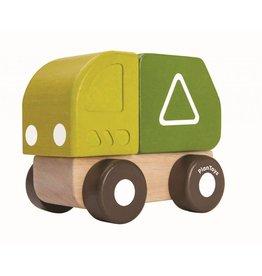 Plan Toys Plan Toys mini vuilniswagen