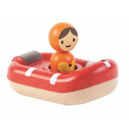 Plan Toys Plan Toys reddingsboot 12M+