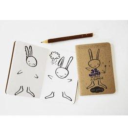 Wee Gallery Wee Gallery activiteitenboekje 32 ways to dress a bunny