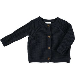 My Little Cozmo my little cozmo knit jacket black