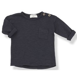 1 + in the family 1+ in the family longsleeve t-shirt blu notte