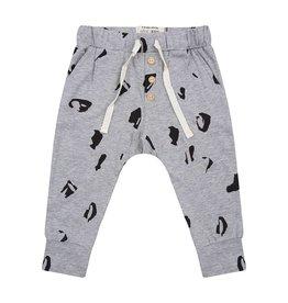 Little Indians Little Indians pants animal grey melange
