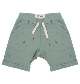 Little Indians Little Indians shorts palm leaves soft green