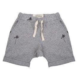 Little Indians Little Indians shorts palmtrees grey melange