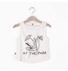 lötiekids lötiekids tank top at the park off white