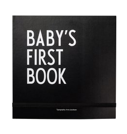 Design Letters Design Letters baby's first book black