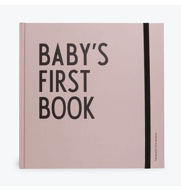 Design Letters Design Letters baby's first book pink
