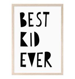 Mini Learners Mini Learners poster A3 Best kid ever
