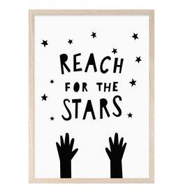 Mini Learners Mini Learners poster A3 Reach for the stars