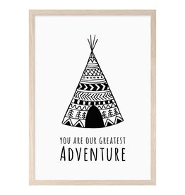 Mini Learners Mini Learners poster A3 You are our greatest adventure