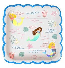 Meri Meri Meri Meri mermaids large plates