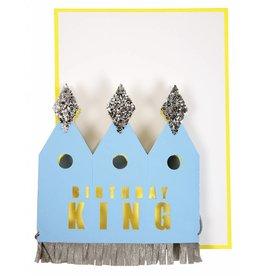 Meri Meri Meri Meri crowned king card