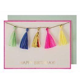 Meri Meri Meri Meri tassels greeting card