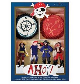 Meri Meri Meri Meri ahoy there pirate cupcake kit