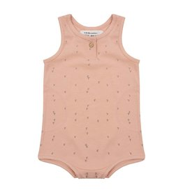 Little Indians Little Indians onesie small arrow dusty coral