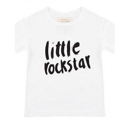 Little Indians Little Indians T-shirt little rockstar white
