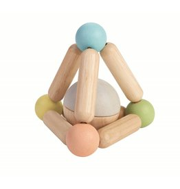 Plan Toys Plan Toys driehoek rammelaar 6M+