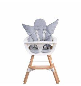 Childhome Childhome universeel stoelkussen engel jersey grey