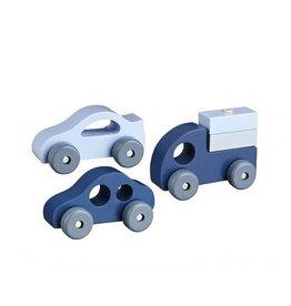 Kid's Concept Kid's Concept houten voertuigen set van 3