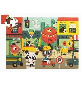 Petit Monkey Petit Monkey puzzel in the city 48 stuks 4+