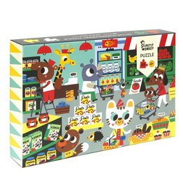Petit Monkey Petit Monkey puzzel in the supermarket 48 stuks 4+
