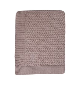 Mies & Co Mies & Co soft knitted deken 80x100 pink
