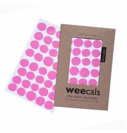 Wee Gallery Wee Gallery muurstickers dots hot pink