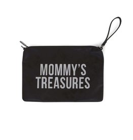 Childhome Childhome mommy clutch black-silver
