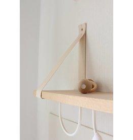 &me &me shelf + 2 white hooks + white ribbon