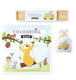 Olli + Jeujeu Olli + Jeujeu giftpack (kleurboek, -potloden en puzzel)