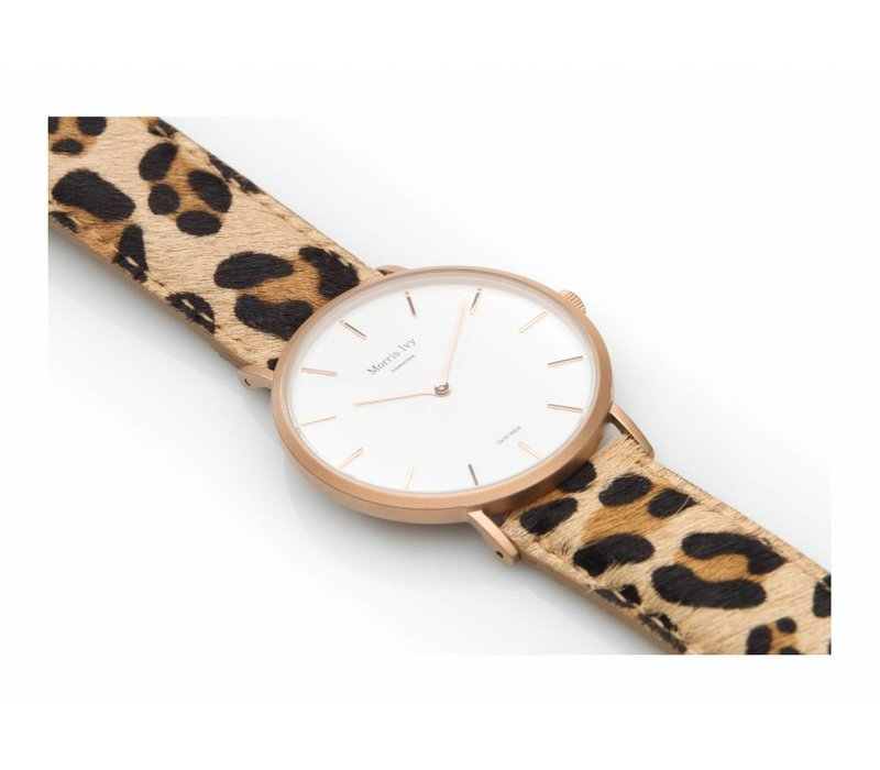 Frosted Rose Gold #Leopard