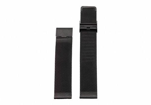 Morris Ivy Black mesh strap