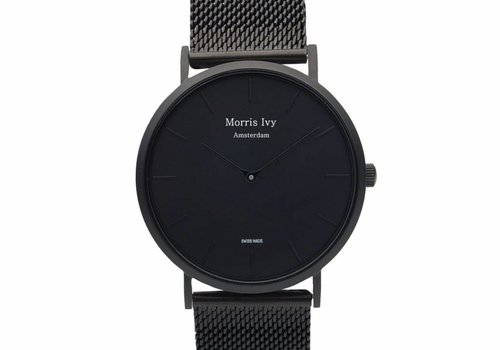 Morris Ivy Frosted Black #Mesh