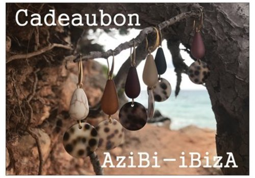 AziBi Cadeaubon vijftien euro