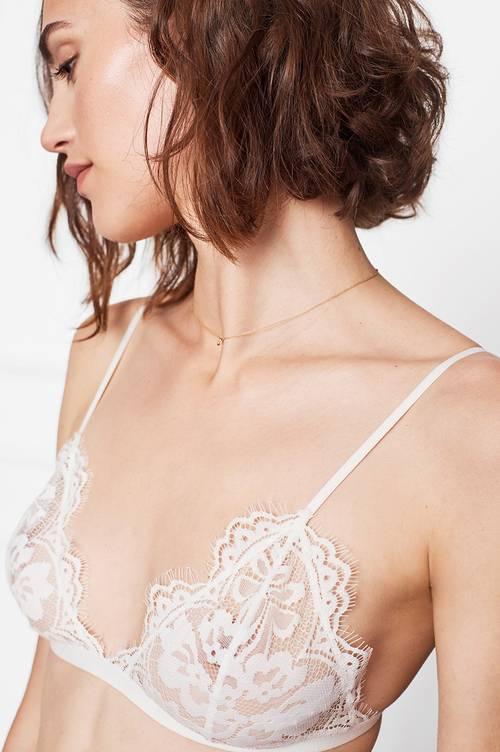Anine Bing Floral Lace Bra