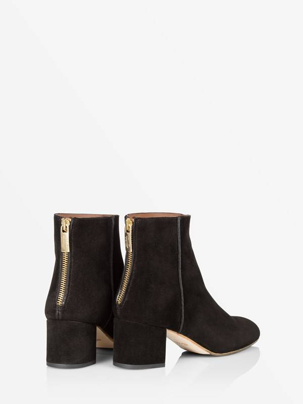 ATP Mei Black Suede Boots