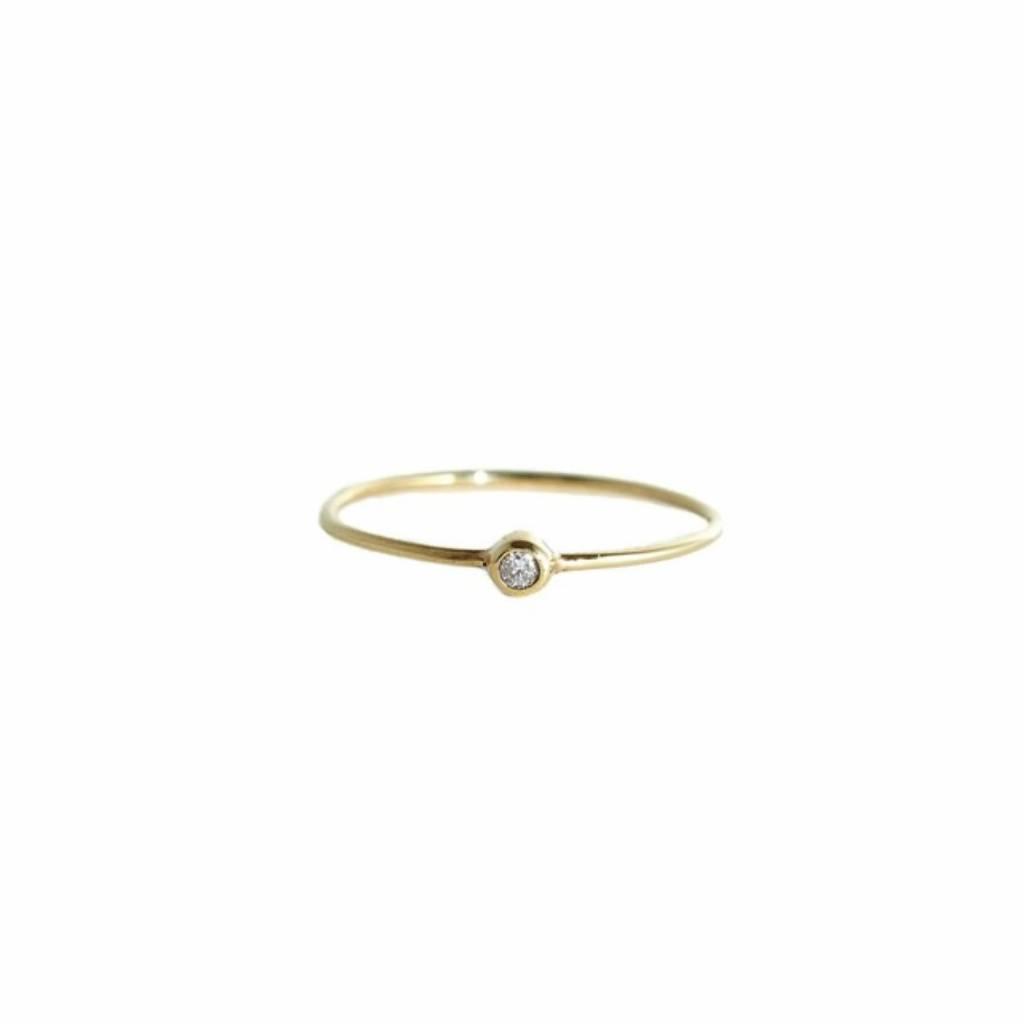 Mimi Et Toi Single Diamond Ring