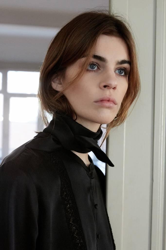 La  Collection Ada Scarf Black