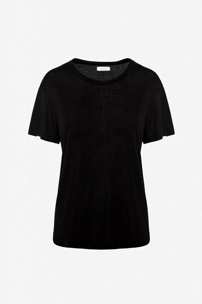 Anine Bing Crew Neck T-shirt
