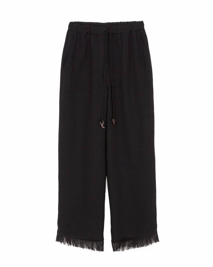 Nanushka Blaze Pants with Fringed Hem