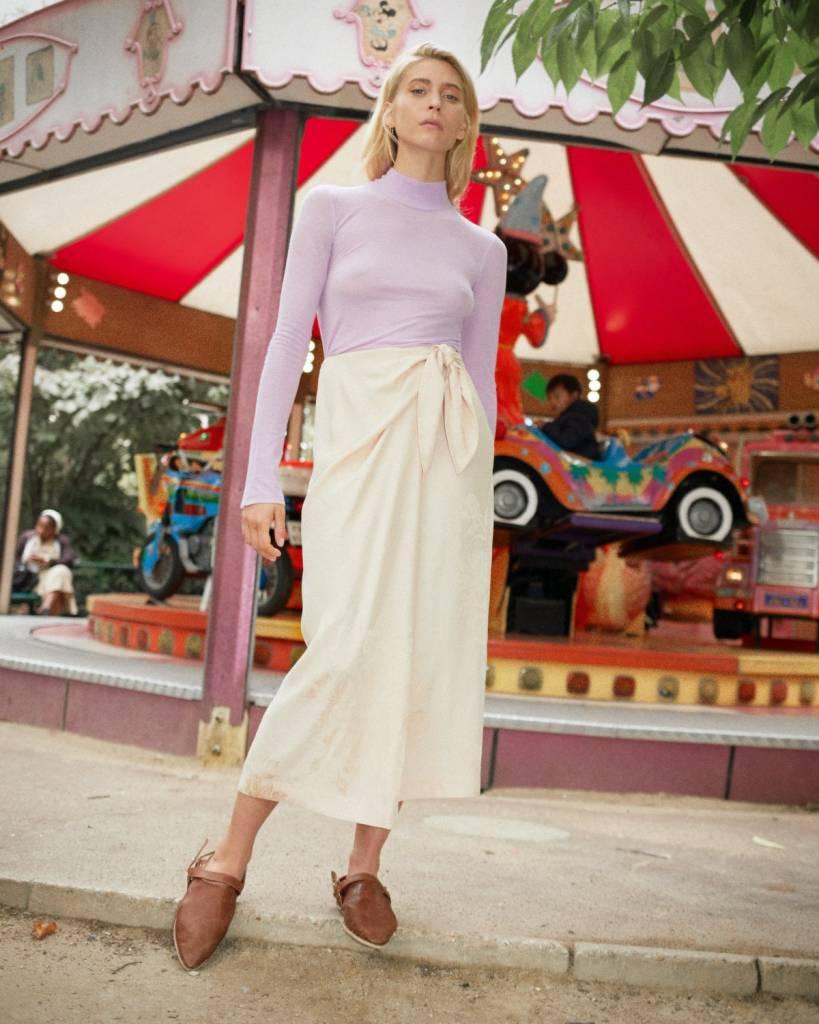 Nanushka Gala Sarong Skirt with Cross Body Strap
