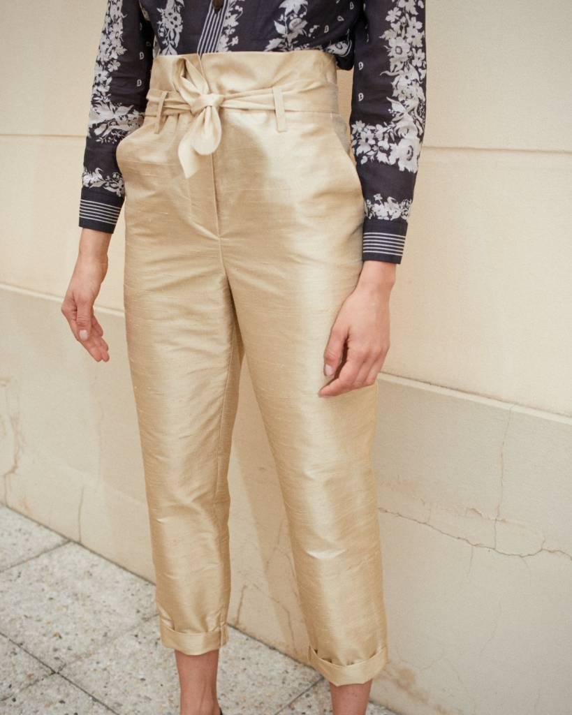 Nanushka Jude Paperbag Waist Pants