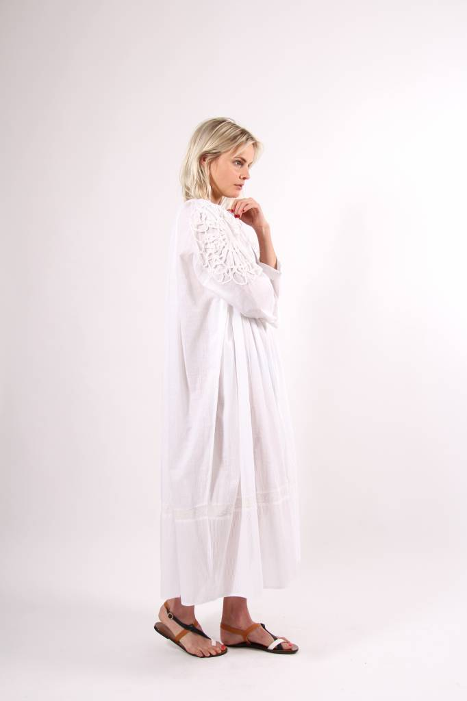 My Sunday Morning Poesy Oversized Cotton Voile