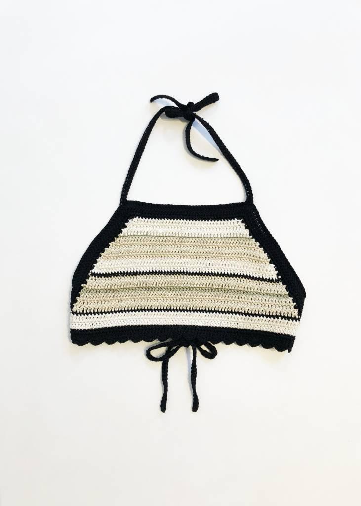 Lupe Sierra Crochet Crop top