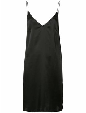 Matin Shoestring V neck Dress