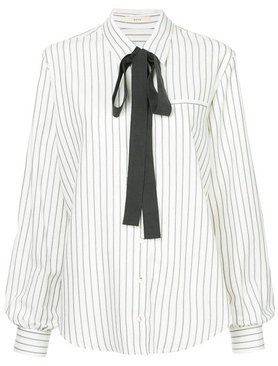 Matin Classic Collared Shirt With Tie