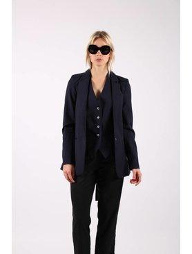 Matin Pinstripe Suit Jacket