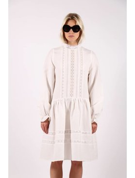 Matin Jissel Lace Trim Dress